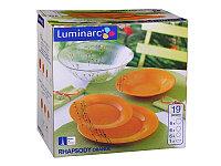 Столовый сервиз Luminarc rhapsody orange 19 предметов