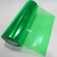 Пленка для фар зеленая