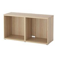 Тумба под ТВ БЕСТО под беленый дуб ИКЕА, IKEA  , фото 1