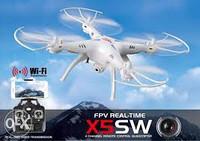 Радиуправляемый квадрокоптер SYMA X5SW wifi
