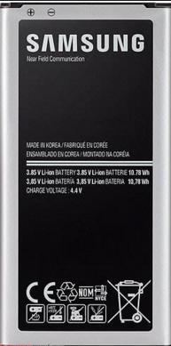 Заводской аккумулятор для Samsung Galaxy S5 mini G800F (BE-BG800BBE, 2100 mah)