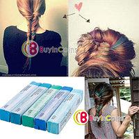 Мелки для волос с голубыми пастельными оттенками (5 цветов), фото 1