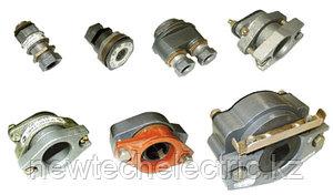 Кабельные вводы взрывозащищенные для бронированного и небронированного кабеля, трубной проводки и кабеля