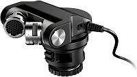Конденсаторный стерео микрофон Tascam TM-2X для DSLR, фото 1