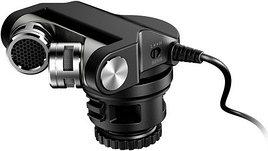 Конденсаторный стерео микрофон Tascam TM-2X для DSLR
