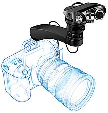 Конденсаторный стерео микрофон Tascam TM-2X для DSLR, фото 2