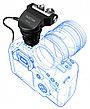 Конденсаторный стерео микрофон Tascam TM-2X для DSLR, фото 4
