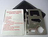 Многофункциональный, карманный нож - банковская карта., фото 3