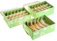 Органайзер  для хранения мелких вещей 3 в 1 (зеленый), фото 1