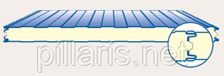 Стеновая сэндвич-панель 150 мм с пенополиизоцинуратом (PIR)