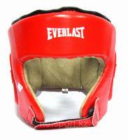 Шлем боксерский Everlast кожа, фото 2