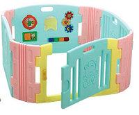 Детский ограждение-манеж с игровой панелью