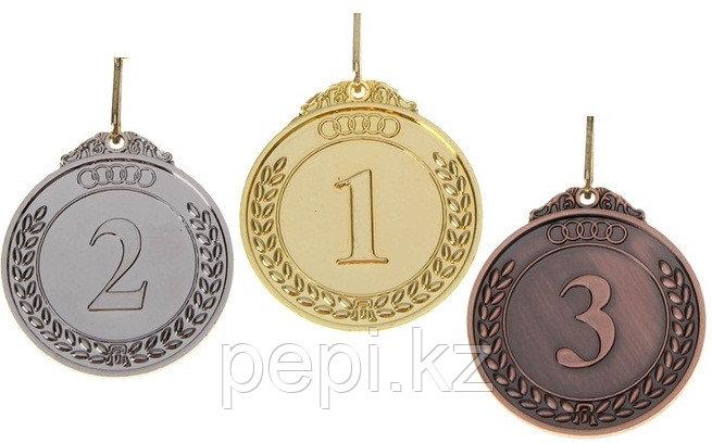 Медали призовые d 6,5 см (комплект)