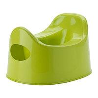 Горшок ЛИЛЛА зеленый ИКЕА, IKEA, фото 1
