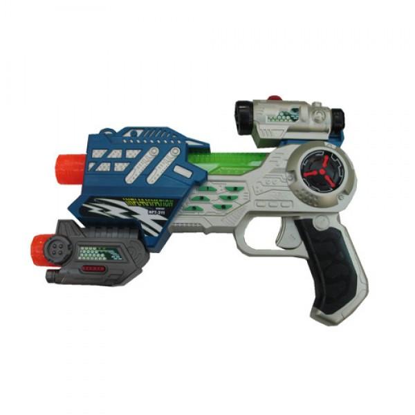 """Пистолет лазерный """"M.A.R.S. Assault"""" (свет, звук) в ассортименте"""