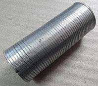 555402-1203024-001 Металлорукав МАЗ L=253-275мм D=110*114 (оцинк.)