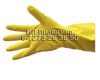 Перчатки индустриальный латексный