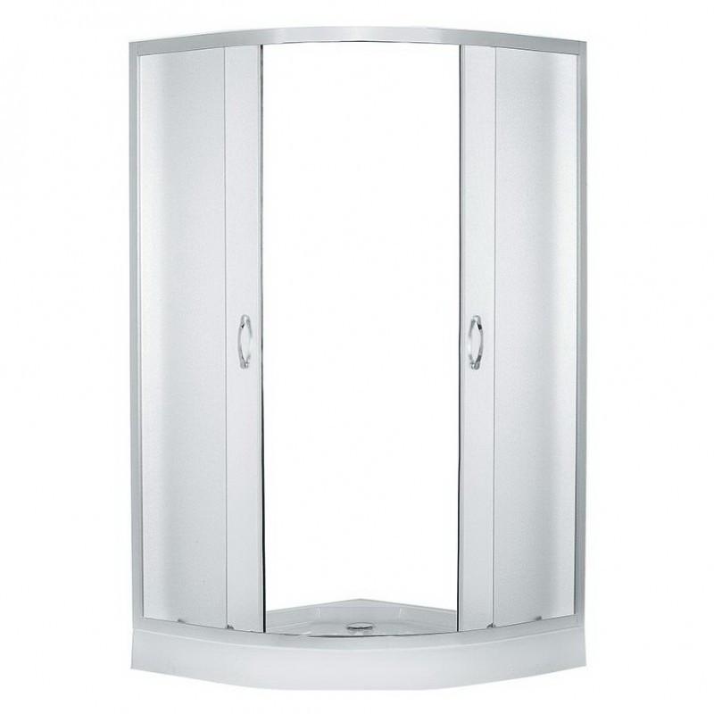 Душевой уголок Erlit  ER0510 - C3 1000*1000*1950 низкий поддон, светлое стекло