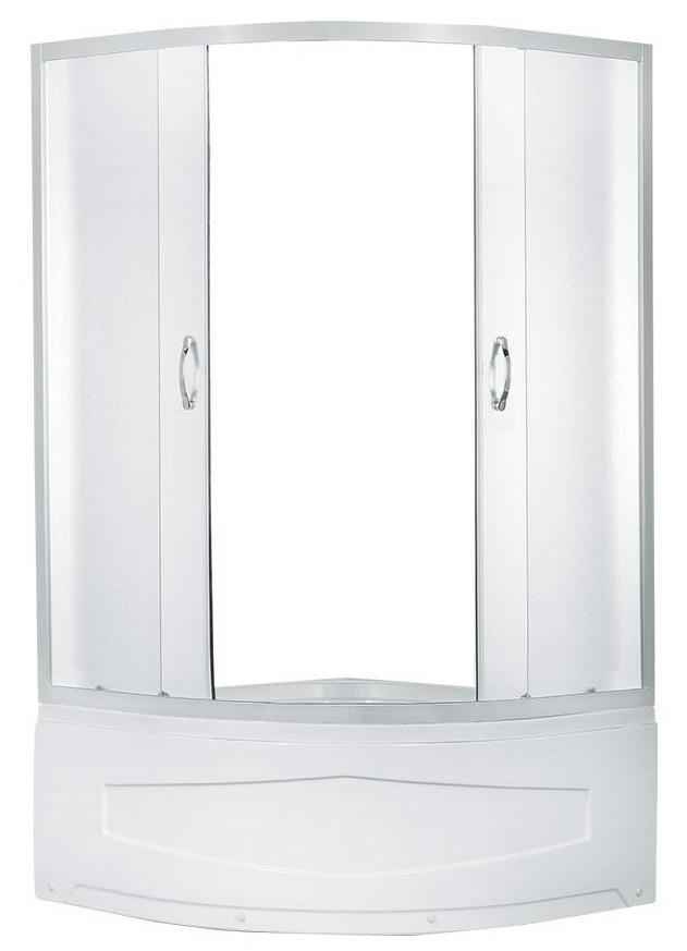 Душевой уголок Erlit ER0509 - ТC4 900*900*1950 высокий поддон, тонированное стекло