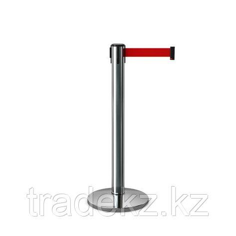 Стойка с вытяжной лентой, тенсатор Barrier Belt 07 Premium (Лента 4,5; 5 м), фото 2