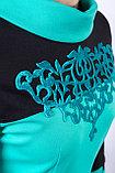 Яркое молодежное платье полуприлегающего силуэта, 42 р., фото 3