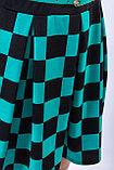 Яркое молодежное платье полуприлегающего силуэта, 42 р., фото 4