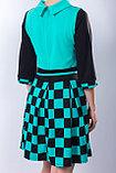 Яркое молодежное платье полуприлегающего силуэта, 42 р., фото 5
