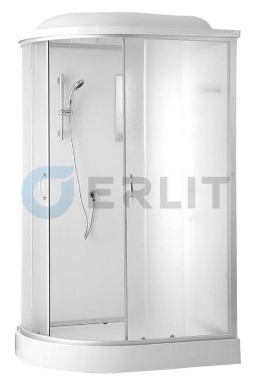 Душевая кабина Erlit  ER3512PR-C3 1200*800*2150 низкий поддон, светлое стекло