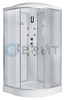Душевая кабина Erlit ER4510P-C3 1000*1000*2150 низкий поддон, светлое стекло, фото 1