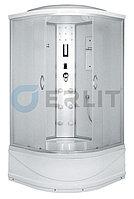 Душевая кабина Erlit  ER4510TP-C3 1000*1000*2150 высокий поддон, светлое стекло, фото 1