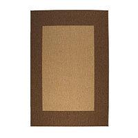 Ковер безворсовый 140х200 ДРАГОР светло-коричневый ИКЕА, IKEA  , фото 1