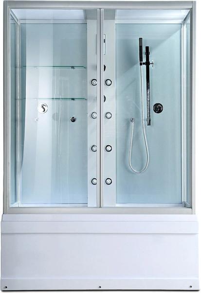 Душевая кабина Erlit душевая кабина SYD 150-W1 1480*820*2200 высокий поддон, прозрачное стекло