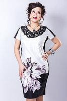 Изысканное платье полуприлегающего силуэта. Россия. Размер - 52