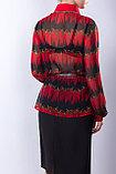Роскошная рубашка полуприлегающего силуэта из  полотна «шифон». 46 р. , фото 5