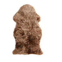 Шкура Овечья СКОЛЬД бежевый ИКЕА, IKEA, фото 1