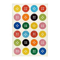 Ковер короткий ворс 133х195 ТОСТРУП разноцветный ИКЕА, IKEA , фото 1