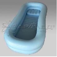 Ванна надувная для мытья больных на кровати с компрессором