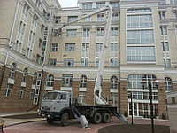Аренда автовышки на базе «КАМАЗ» 33 м