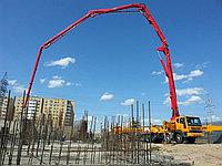 Услуги бетононасоса 52 метра