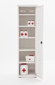 Шкаф медицинский для фармпрепаратов разборный