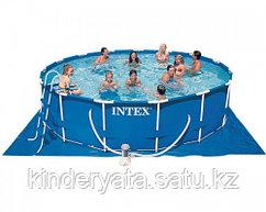 Бассейн каркасный Intex 457 х 107 см