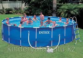 Каркасный бассейн Intex Metal Frame 457х122 см