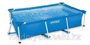 INTEX Каркасный бассейн  220х150х60см
