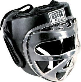 Закрытый шлем для тхэквондо и каратэ оригинал GREEN HILL