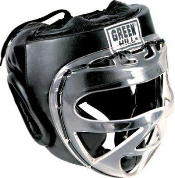 Закрытый шлем для тхэквондо и каратэ оригинал GREEN HILL, фото 2
