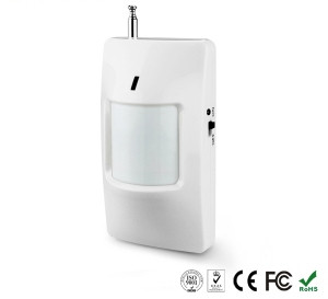 Беспроводной ИК-датчик движения с функцией ВКЛ / ВЫКЛ с возможностью подключения адаптера питания(9В DC Input)