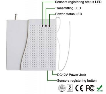 Беспроводной усилитель сигнала с адаптером