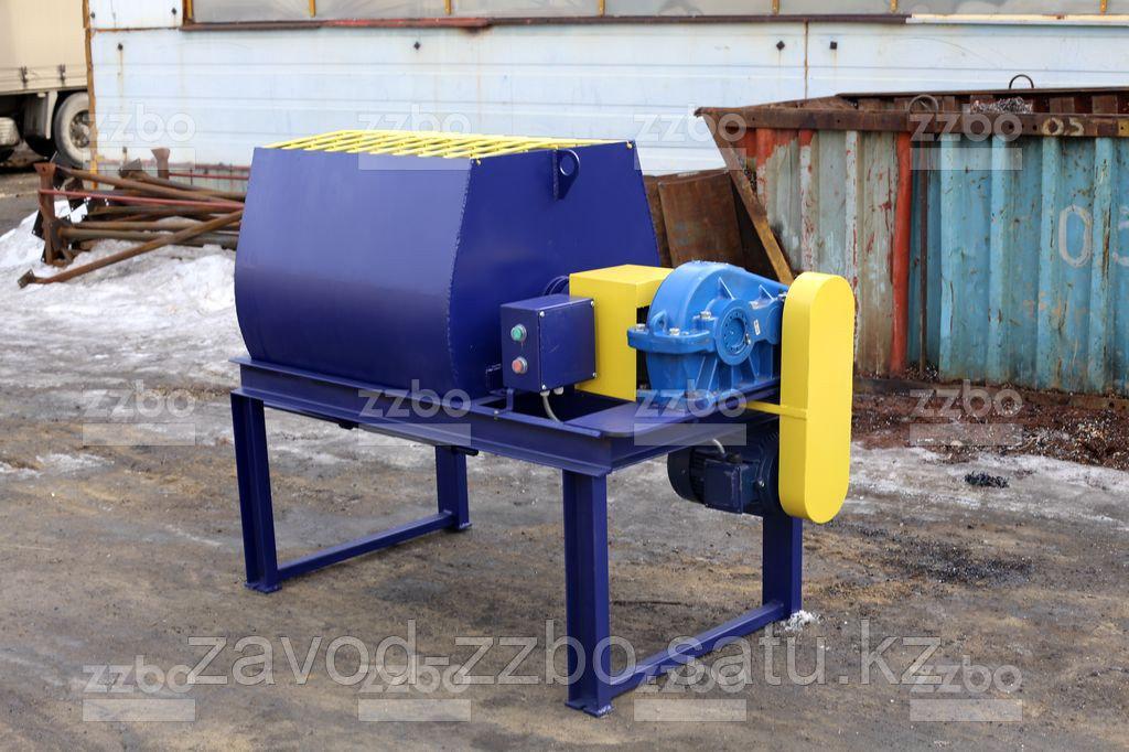 Одновальный бетоносмеситель БП-1Г-300