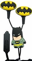 Детские наушники Бэтмен (вкладыши, с разноцветными насадками) , фото 1