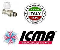 Прямой радиаторный вентиль ICMA 1/2 813